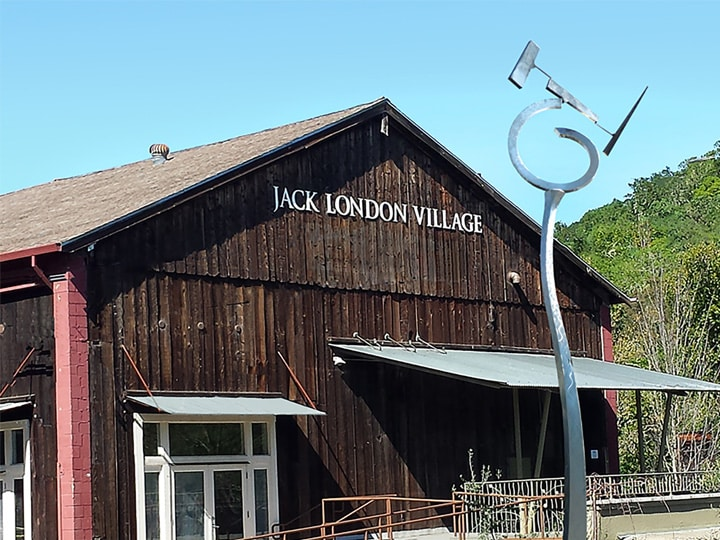 Jack London Village Glen Ellen Sonoma front view